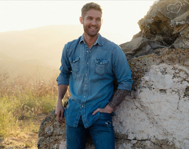 Brett Young Was There to Hear Da-Da for the First Time