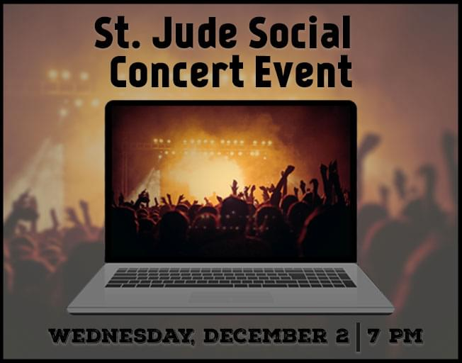 Join B104 For The St. Jude Social Concert Event