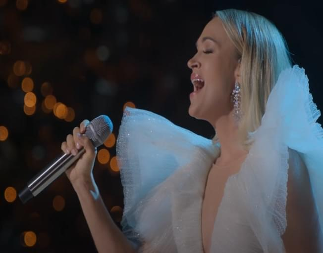 Carrie Underwood Debuts Trailer For New HBO Max Christmas Special