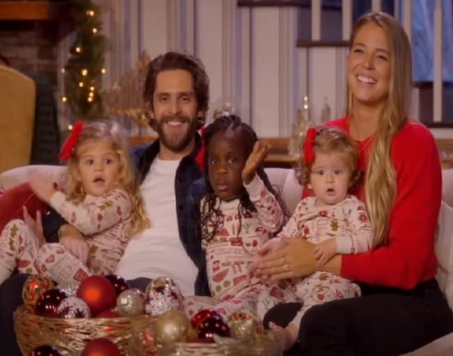 Hilarious Bloopers With Thomas Rhett and His Wife Lauren Akins From 'CMA Country Christmas'