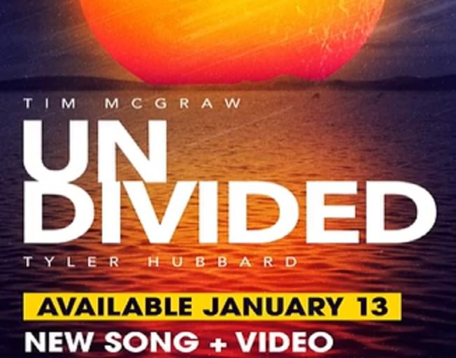 Tim McGraw Teams With Tyler Hubbard From Florida Georgia Line For New Song 'Undivided'
