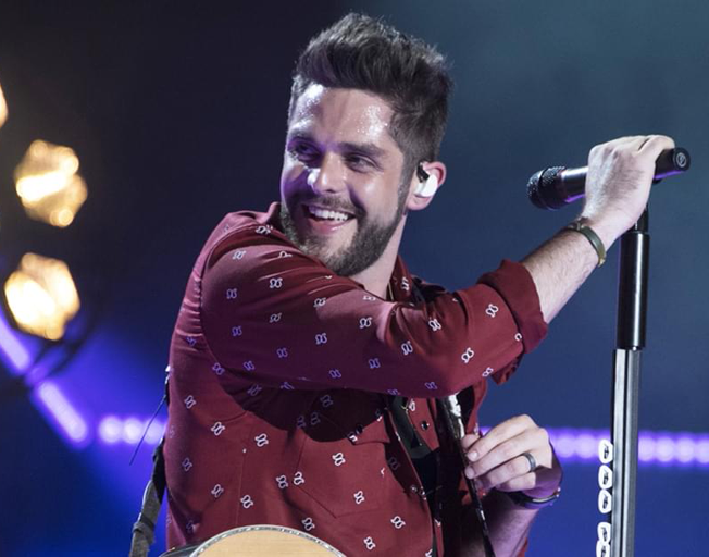Thomas Rhett Will Have to Break His Habit of Being at Home