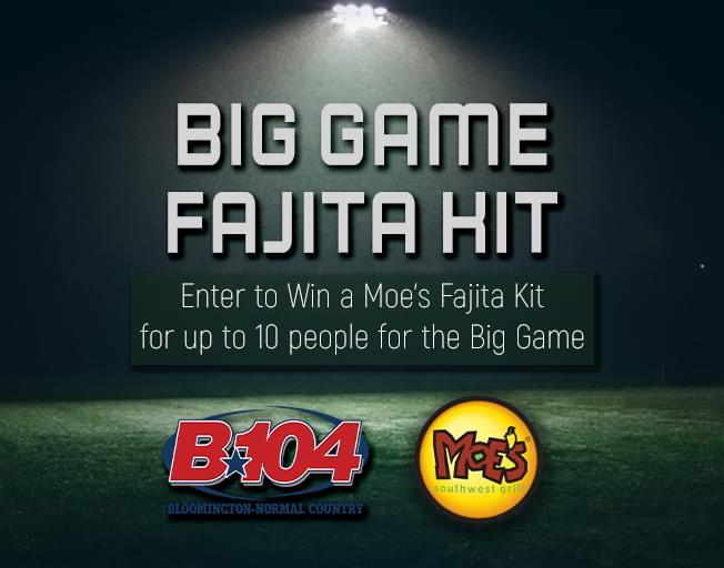 Win a Moe's Fajita Kit for the Big Game