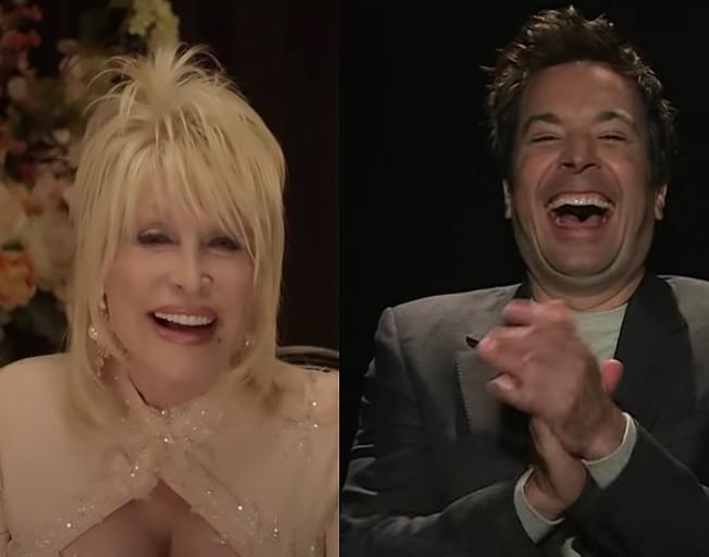 Dolly Parton Plays 'True Confessions' with Jimmy Fallon [VIDEO]