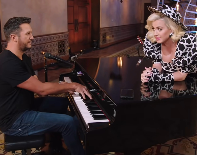 Luke Bryan Says Watching Katy Perry Be a Mom on American Idol Set Is a 'Very Beautiful Thing'