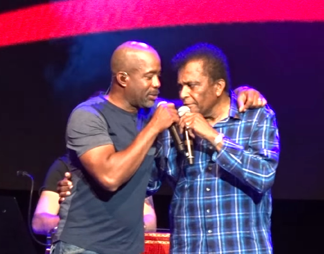 Darius Rucker Honors Charley Pride With 'Kiss An Angel Good Mornin' During Opry Special