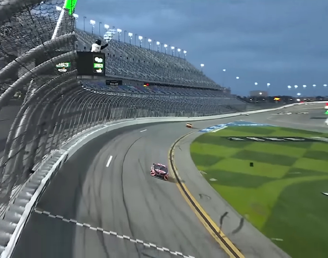 Another First Time NASCAR Winner at Daytona [VIDEO]