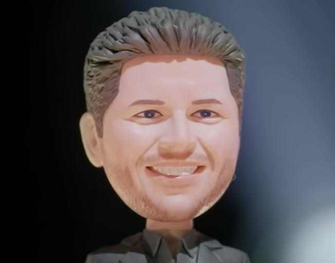 Blake Shelton Gifts Bobbleheads To His Voice Team