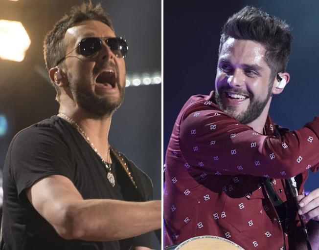 "Thomas Rhett Calls Eric Church His ""Favorite Country Artist Of All Time"""