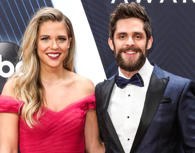 Thomas Rhett Loves Sharing the Spotlight with His Wife Lauren
