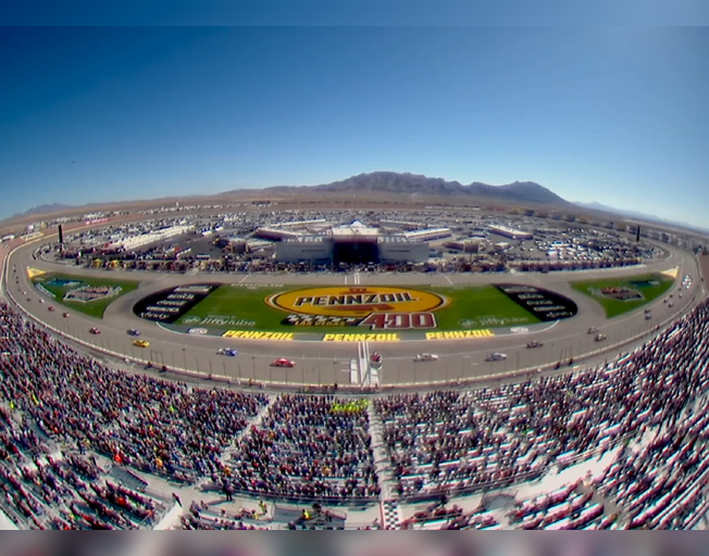 """NASCAR Going """"All-In"""" for the Win in the Pennzoil 400 at Las Vegas Motor Speedway"""