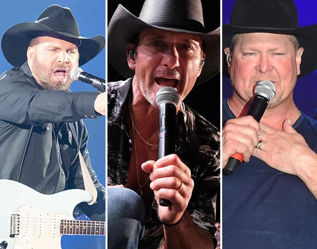 Garth Brooks, Tim McGraw And Tracy Lawrence Were Once Bridesmen in the Same Wedding