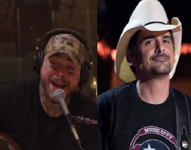 "Post Malone Delivers Jaw Dropping Cover Of Brad Paisley's ""I'm Gonna Miss Her"""