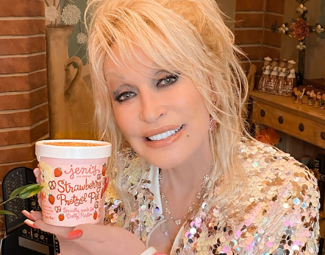 Dolly Parton's Ice Cream Flavor Hawked On eBay for $1000