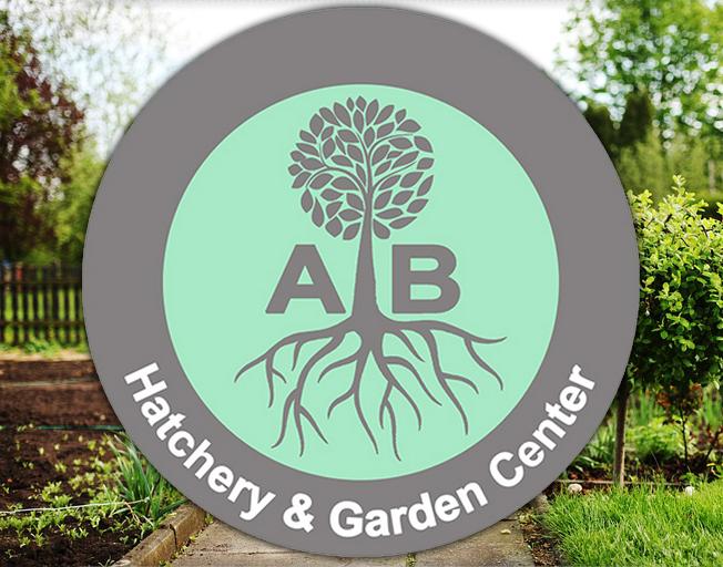 A.B. Hatchery & Garden Center logo