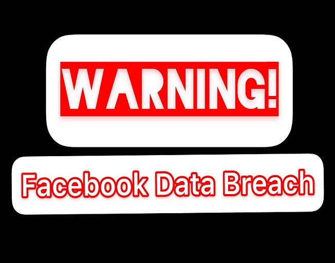 Warning Facebook Data Breach