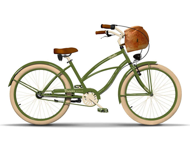 Panera Giving Away Bikes With Bread Bowl Baskets
