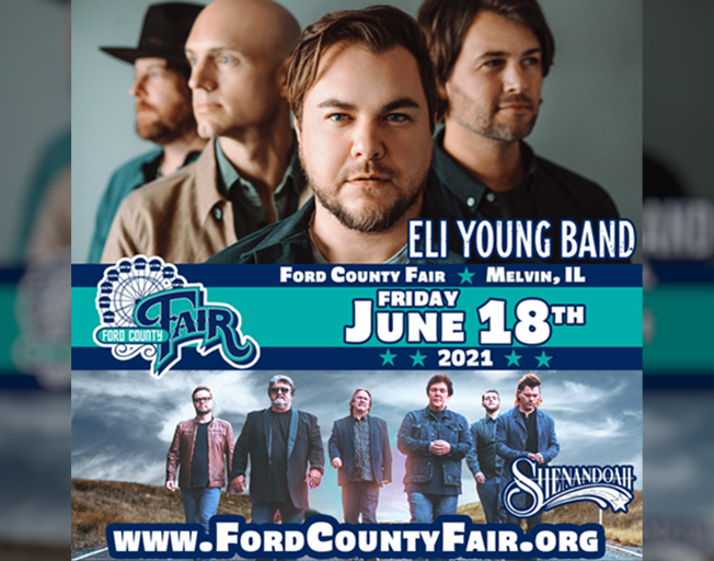 Text 2 Win Tickets To Eli Young Band At The Ford County Fair