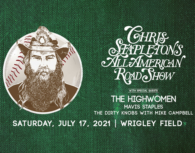 Win Tickets To Chris Stapleton at Wrigley Field With the B104 Text Club