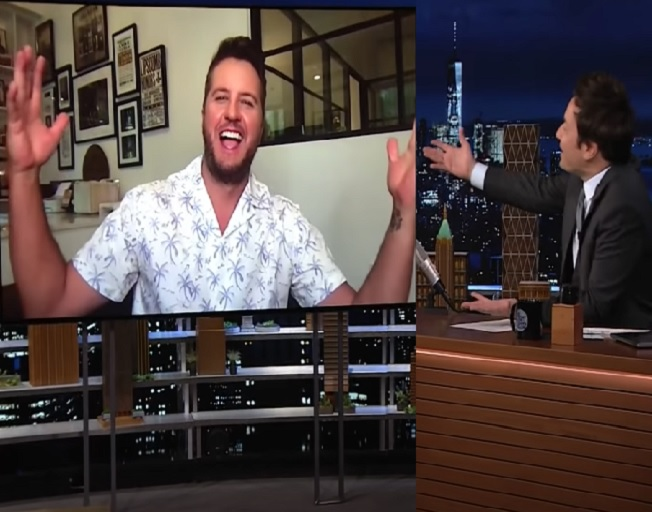 Luke Bryan Plays Singing Whisper Challenge With Jimmy Fallon And Admits To Forgetting The Words To His Own Songs [VIDEO]