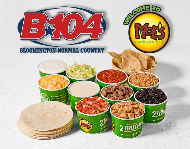 Win Lunch from Moe's Southwest Grill with B104