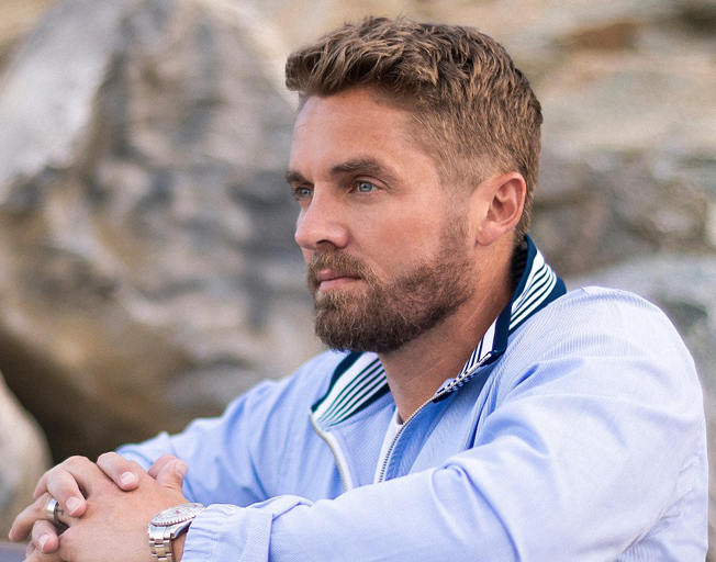 Brett Young Thinks His Toddler is Naturally Preparing for Arrival of Baby Sister