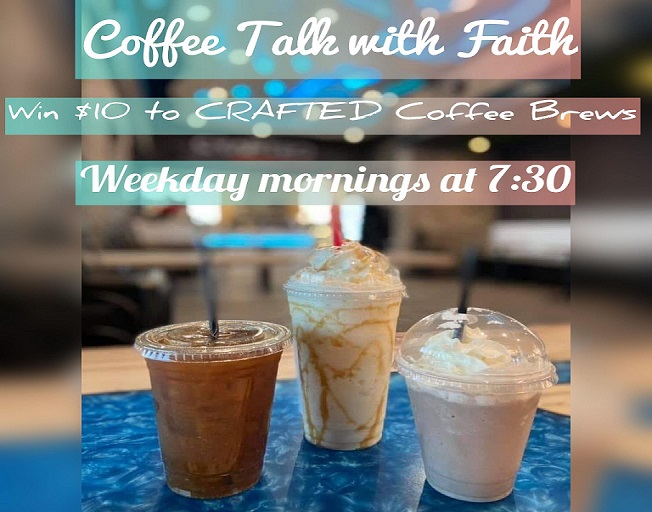 Coffee Talk With Faith: Wake Up And WIN Free Coffee From Crafted Coffee Brews