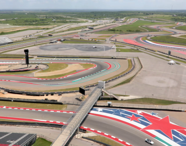 Circuit of the Americas road course in Austin, Texas