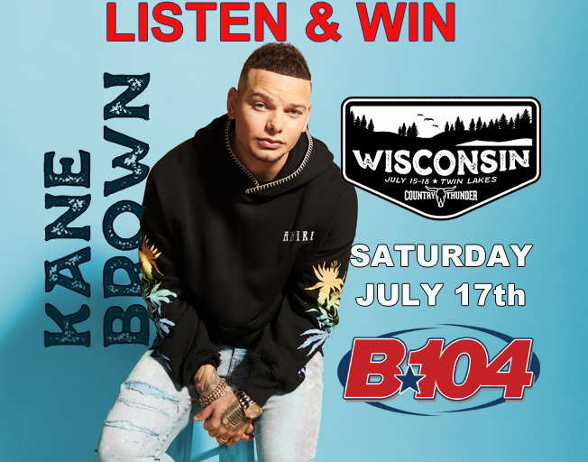 Win Kane Brown Tickets with Dan Westhoff on B104