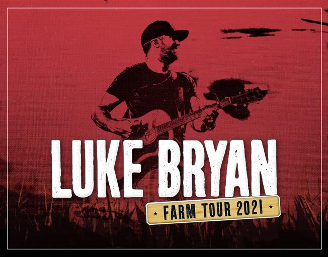 "Use B104 Insider Rewards to Win Tickets to Luke Bryan ""Farm Tour 2021"""