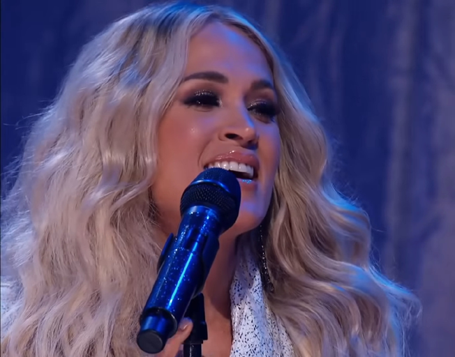 Carrie Underwood performing on 2021 CMT Music Awards 06-09-21