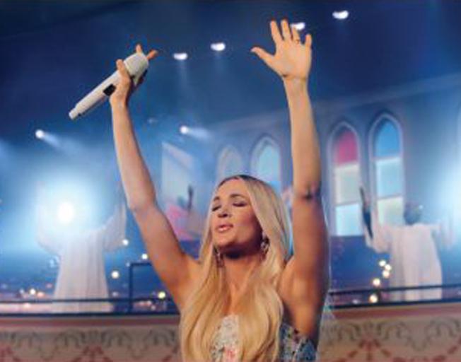 Carrie Underwood to Release Gospel Concert DVD