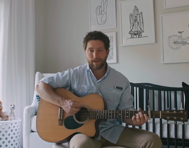 Chris Lane Sings to Son in Song 'Ain't Even Met You Yet' – 'I Feel Ready / But I Feel Scared to Death' [VIDEO]