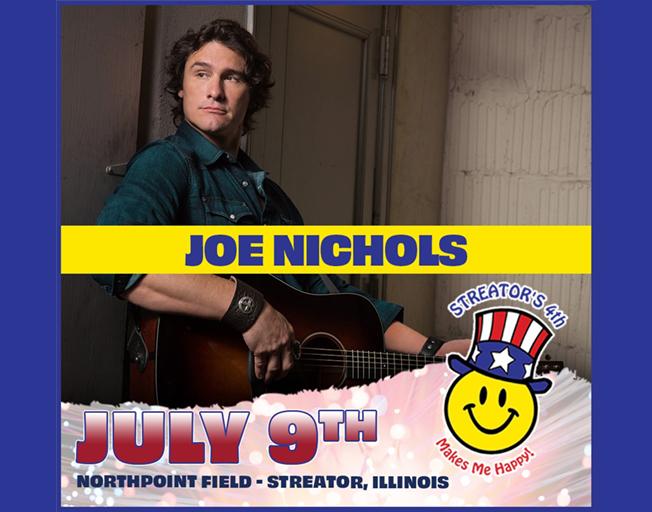 Win Tickets To Joe Nichols 4th of July Celebration