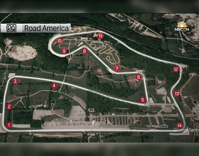 NASCAR Cup Series Returns to Road America after Almost 65 Years