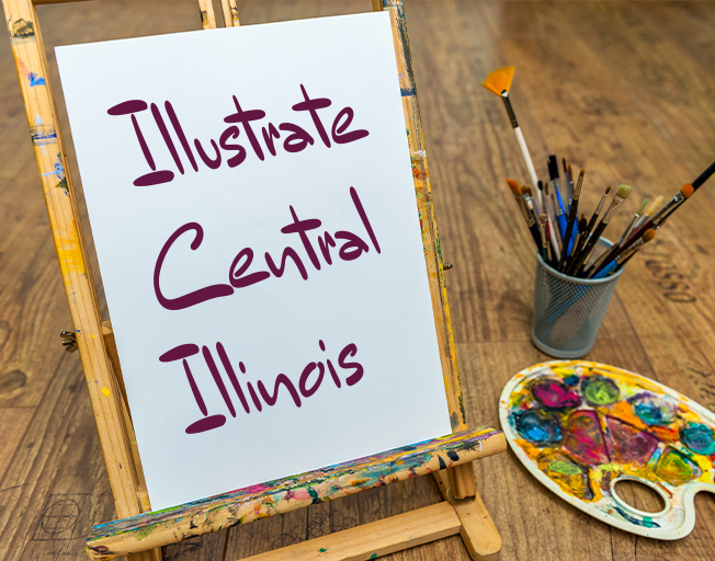 Illustrate Central Illinois with B104
