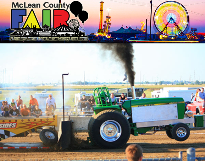 Win McLean County Fair Tractor Pull Tickets with Tickets @ Two on B104