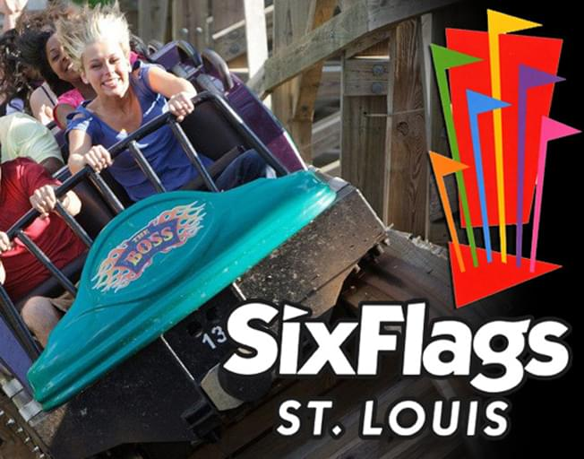 Win a 4-Pack of tickets to Six Flags St. Louis with B104
