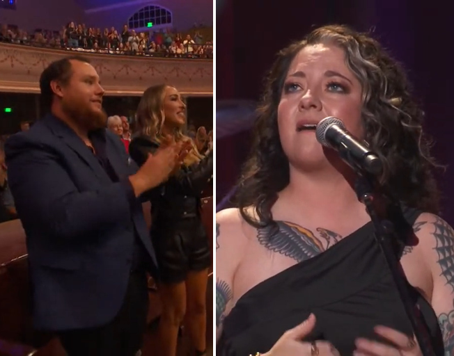 """Ashley McBryde Earns Standing Ovation From Luke Combs After Covering """"She Got The Best Of Me"""" [VIDEO]"""