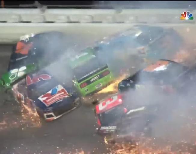 Wild End at Daytona to End NASCAR Regular Season [VIDEO]