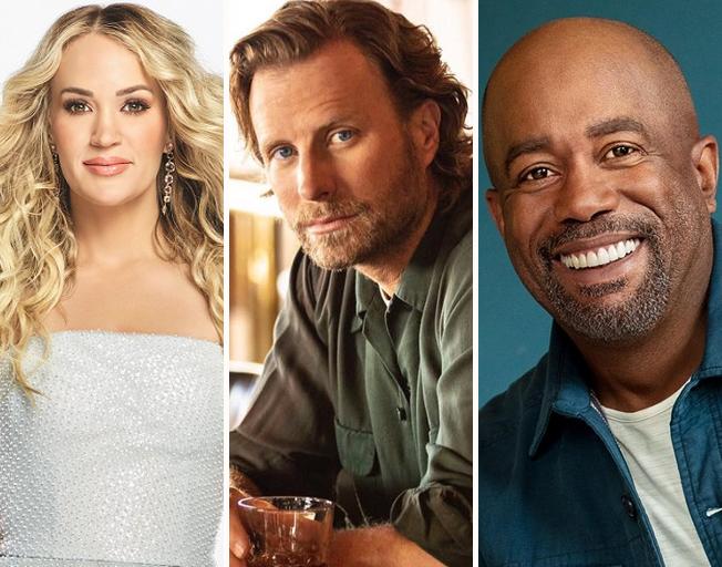 Carrie Underwood, Dierks Bentley and Darius Rucker Talk About Tonight's 'CMA Summer Jam' TV Special