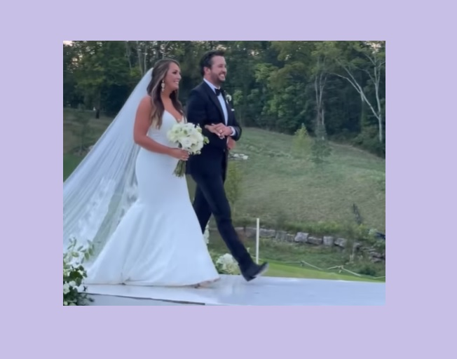Luke Bryan Walks His Niece Down The Aisle and Shares Emotional Dance At Her Wedding