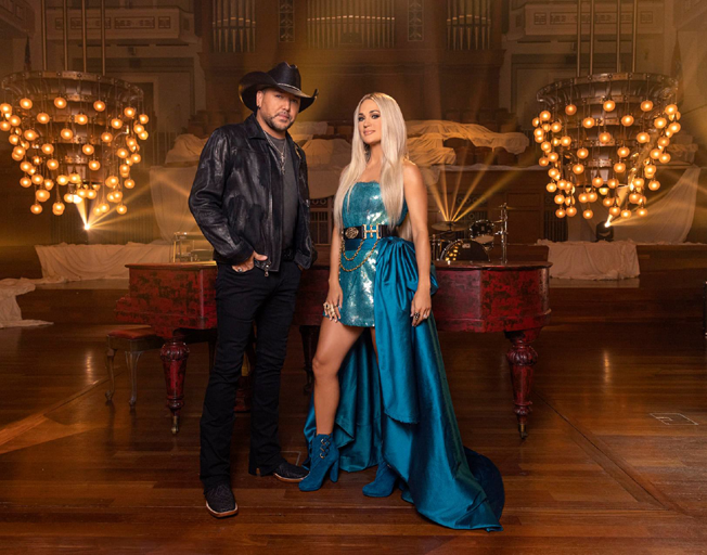 """Jason Aldean says Carrie Underwood took """"If I Didn't Love You"""" to a New Level"""