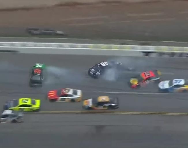 Weather, Wrecks and Wallace Rain on NASCAR Playoff Drivers' Parade at Talladega [VIDEO]