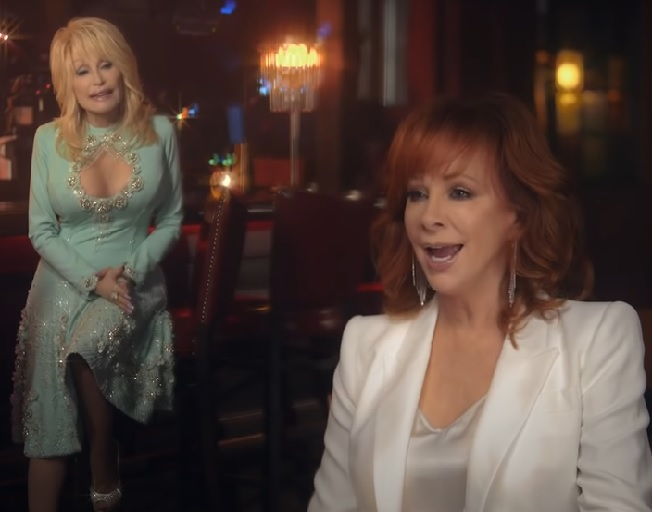 Reba McEntire And Dolly Parton Remake 'Does He Love You'