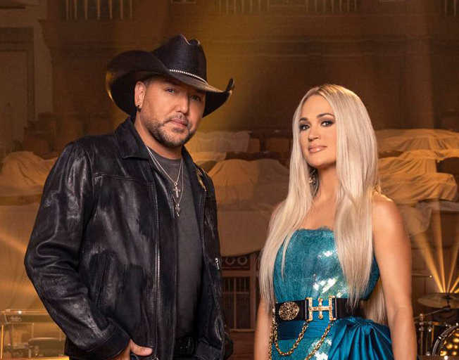 Jason Aldean and Carrie Underwood's Duet is Moving Fast to Number One