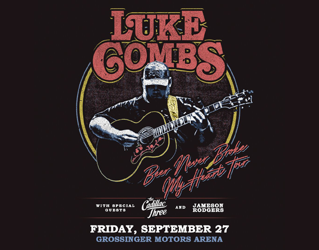 Win Tickets To Luke Combs Before You Can Buy 'em