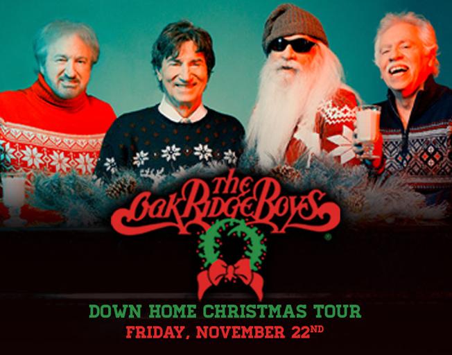 THE OAK RIDGE BOYS 'DOWN HOME CHRISTMAS TOUR' PEORIA CIVIC CENTER, FRIDAY, NOVEMBER 22