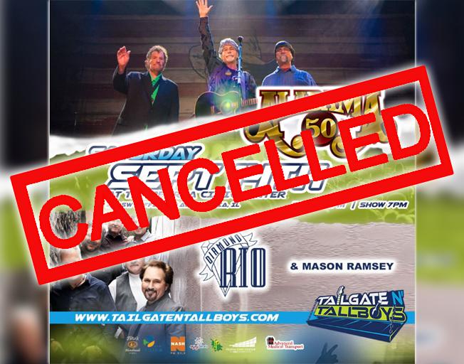 Tailgate N' Tallboys Alabama Concert Cancelled
