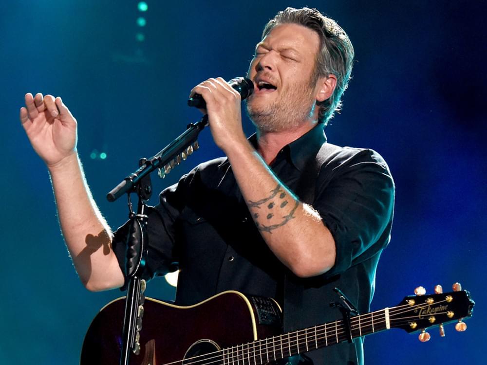 "Blake Shelton Releases Soulful New Song, ""Jesus Got a Tight Grip"" [Listen]"